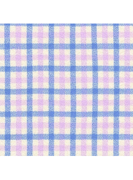 Robert Kaufman Mammoth Junior Flannel Periwinkle