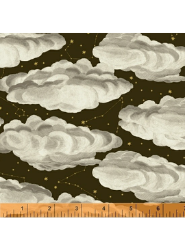 Windham Fabrics Stargazer by Whistler Studios Clouds Dark