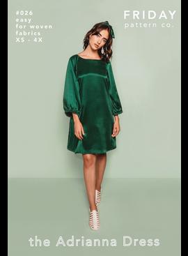 Friday Pattern Co. Friday Pattern Co. Adrianna Dress