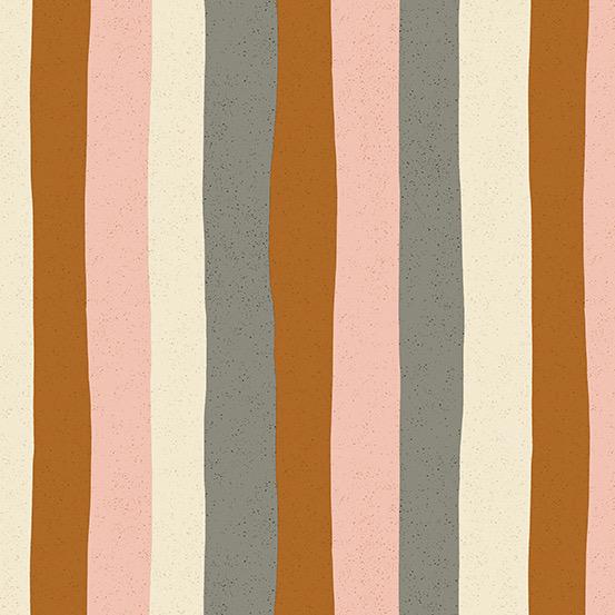Andover Perennial by Sarah Golden Stripes Pink Lemonade