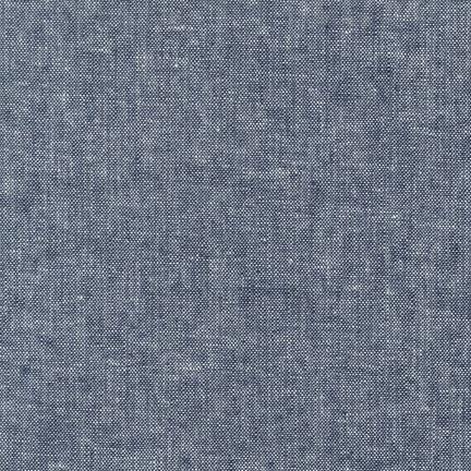 Robert Kaufman Essex Yarn Dyed Indigo