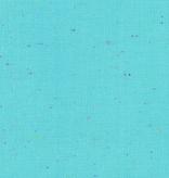 Robert Kaufman Essex Speckle Yarn Dyed Aqua