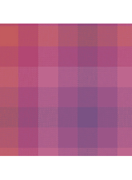 Andover Kaleidoscope by Alison Glass Stripes and Plaids Magenta Plaid
