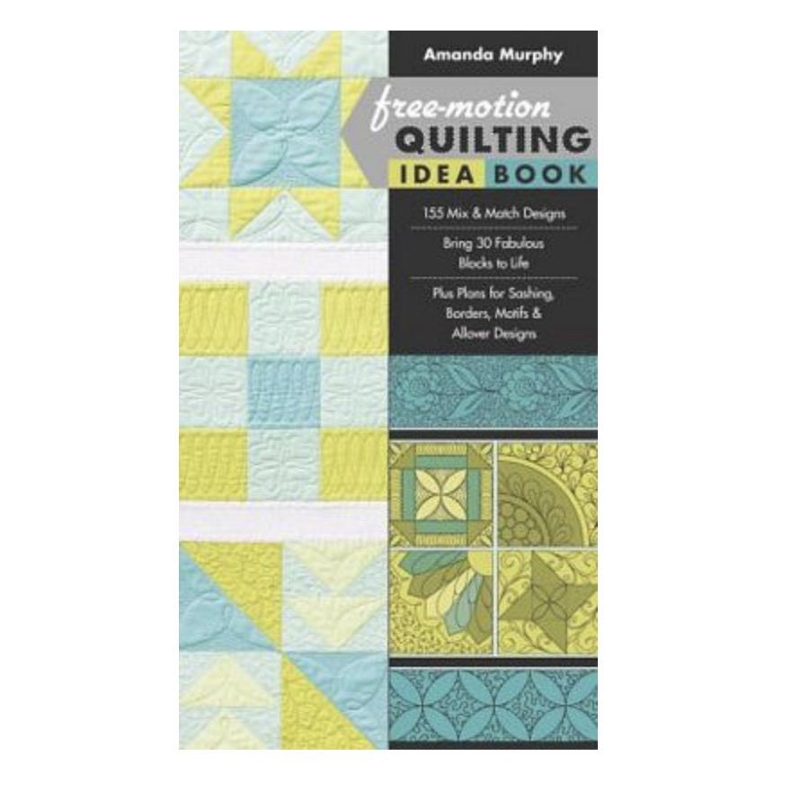 Brewer Organic Free Motion Quilting Idea Book by Amanda Murphy