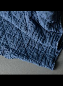 Merchant & Mills Merchant & Mills Jacquard Cotton Ahoy Blue