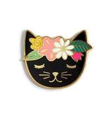 Kiriki Press Kiriki Press Magnetic Needle Minder Floral Cat