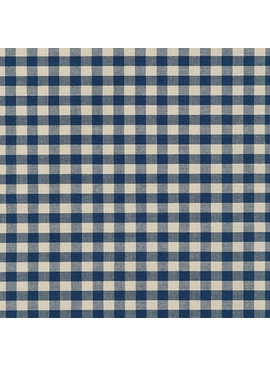 Robert Kaufman Crawford Gingham Large Navy