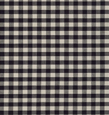 Robert Kaufman Crawford Gingham Large Black
