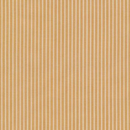 Robert Kaufman Crawford Stripes Mustard