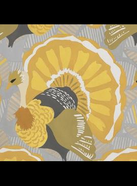 Alexander Henry Turkey Day by Alexander Henry Grey Gold