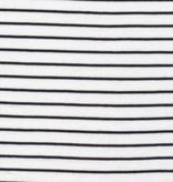 Cloud 9 Cloud 9 Organic Cotton White / Black Knit Stripes
