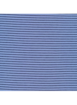 Cloud 9 Cloud 9 Organic Cotton Knit Blue / Black Stripes
