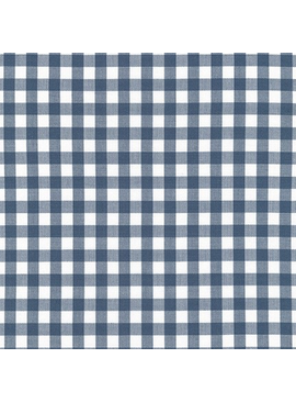 Robert Kaufman Kitchen Window Wovens Gingham by Elizabeth Hartman Slate