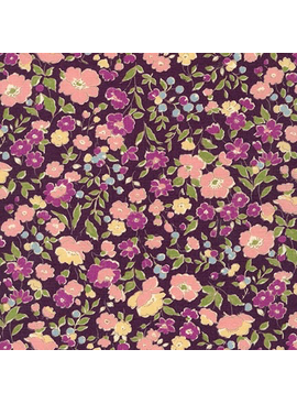 Robert Kaufman Sevenberry Petite Garden Purple