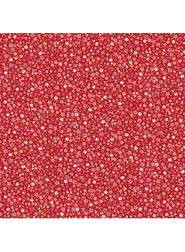 Robert Kaufman Sevenberry Petite Garden Red