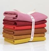 National Nonwovens Wool Felt Fat Quarter Bundle FQ (6 Piece) - Warm