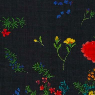Kokka Nani Iro by Naomi Ito Jardin Linen Sheeting