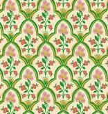 Windham Fabrics Malibu by Heather Ross Wood Block Pink