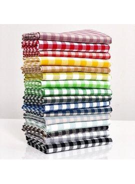 Modern Domestic Woven Cotton Gingham Fat Quarter Bundle - 16pc