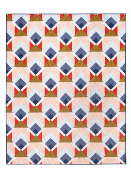 Lo & Behold Stitchery Snow Cabin Quilting Pattern by Lo & Behold Stitchery