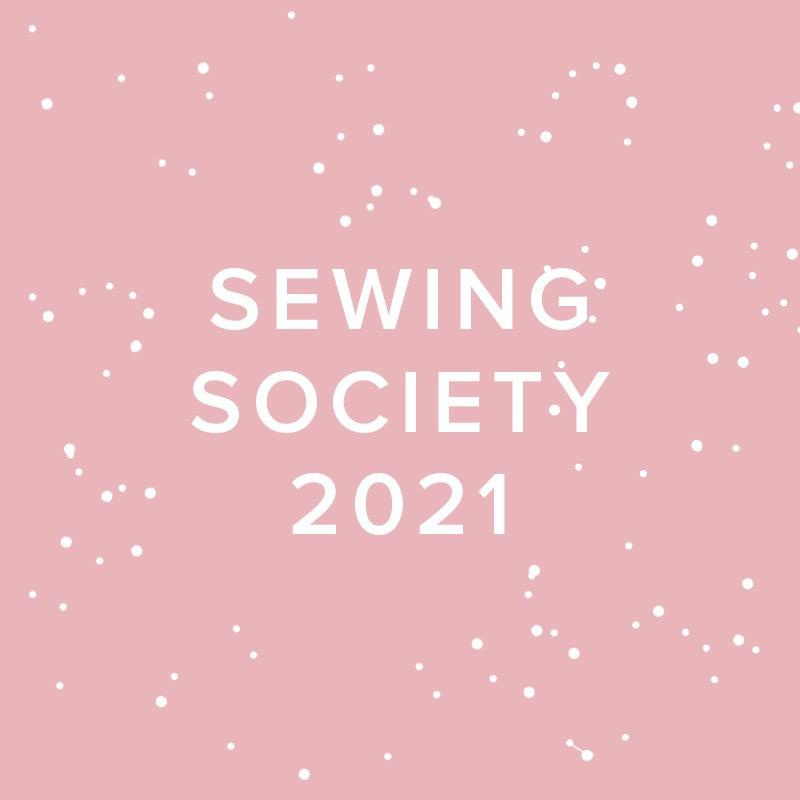 Modern Domestic 2021 Modern Domestic Sewing Society Virtual Annual Membership, FIRST SATURDAYS, monthly at 10:30am PST