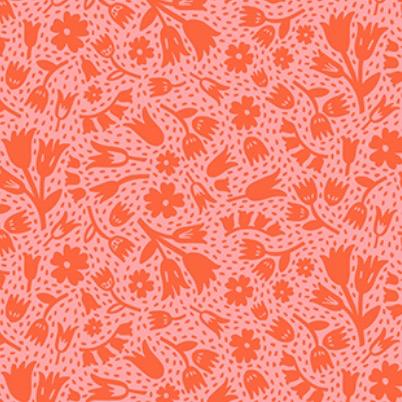 Squeeze by Dana Willard Flowers Red