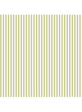 FIGO Serenity Basics Stripes by FIGOGreen and cream