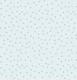 FIGO Serenity Basics Dots by FIGOBlue with Teal dots