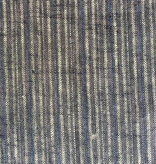 "Pickering International Hemp / Organic Cotton Yarn Dyed Blue Ticking 5.4oz —56"" wide"