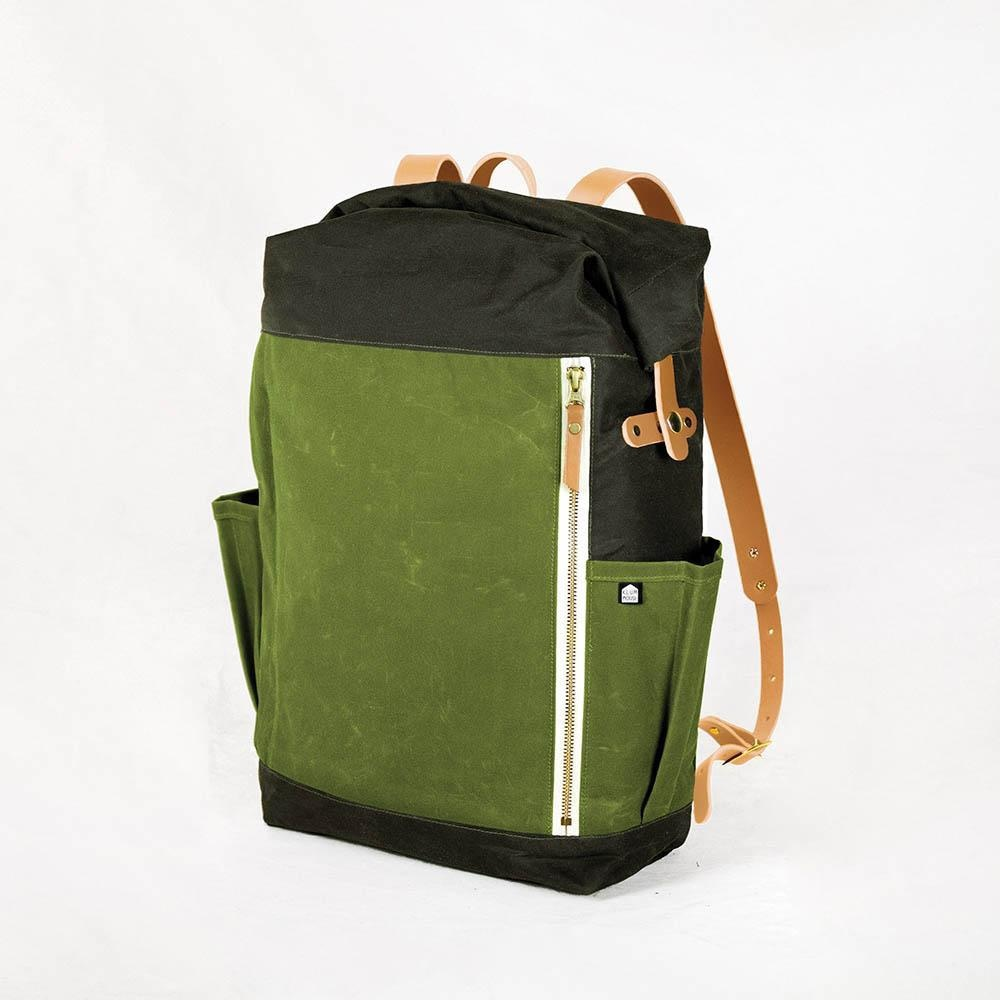 Klum House Klum House Slabtown Rolltop Backpack Pattern