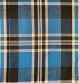Textile Creations Rayon Cambridge Plaid Royal/Black