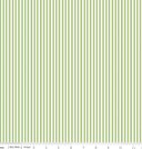 """Riley Blake 1/8"""" Stripe Green by Riley Blake"""