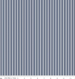 "Riley Blake 1/8"" Stripe Navy by Riley Blake"