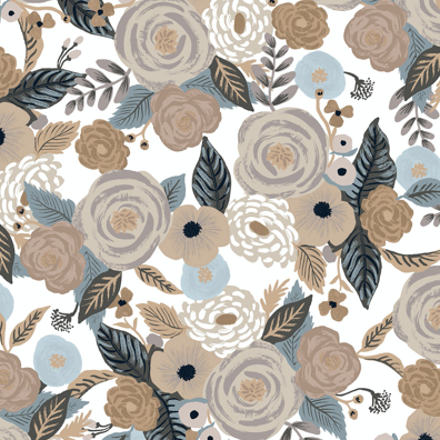 Cotton + Steel Garden Party by Rifle Paper Co. Juliet Rose Linen Multi Canvas