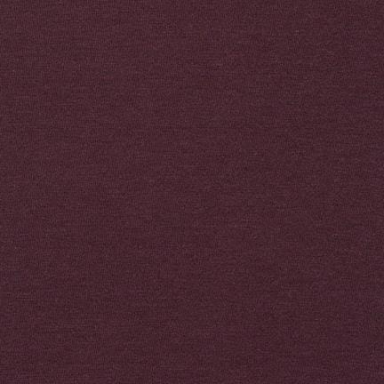 Robert Kaufman Dana Cotton/Modal Knit Huckleberry