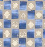 Cotton + Steel Sienna by Alexia Abegg: Stamps Lapis