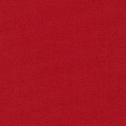 Robert Kaufman Big Sur Canvas Red