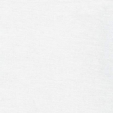 Robert Kaufman Limerick Linen White