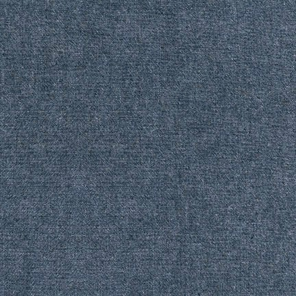 Robert Kaufman Indigo Washed Chambray