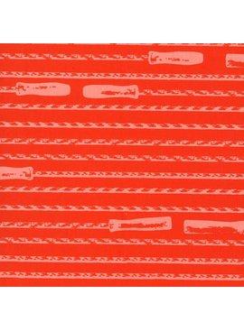Hoffman Fabrics Double Dutch Jump Rope by Latifah Saafir Studios - Flame
