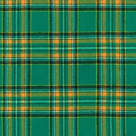 Robert Kaufman Highlander Flannel Green