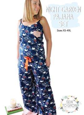 Moda Sew To Grow Night Garden Pajama Set