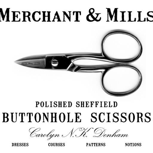 Merchant & Mills Merchant & Mills Buttonhole Scissors (scissor 12)