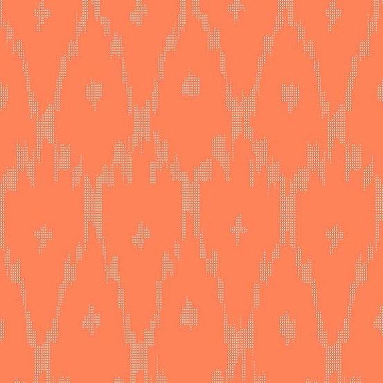 Andover Technicolor - Dream Weaves Faded Red Net