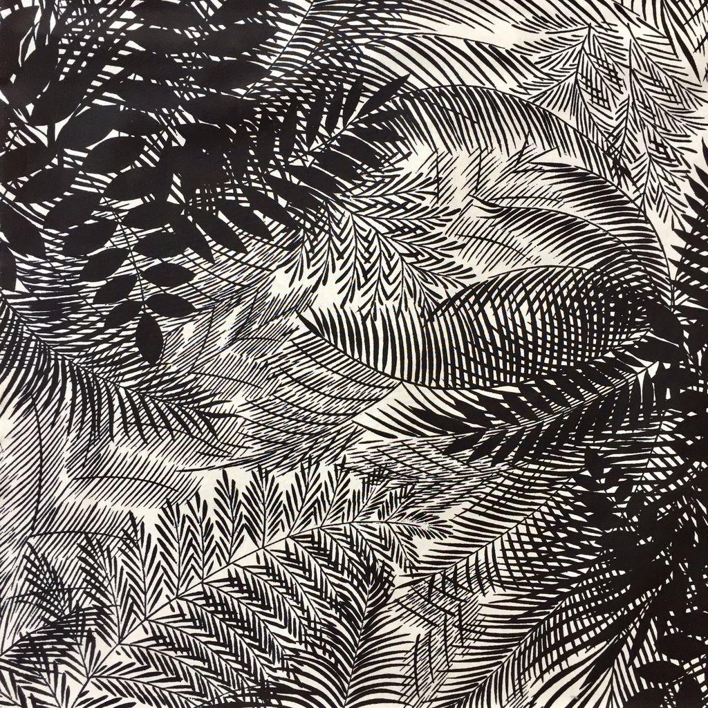Alexander Henry Boca Raton by Alexander Henry Fabrics in Black Tea