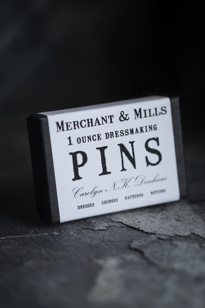 Merchant & Mills Merchant & Mills 1 oz. Dressmaking Pins