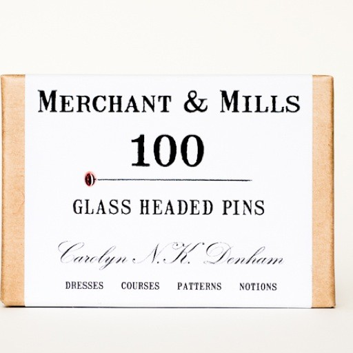 Merchant & Mills Merchant & Mills Glass Head Pins