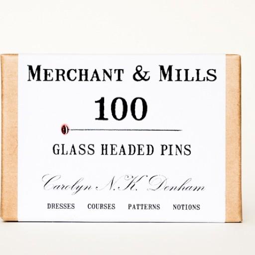 Merchant & Mills Merchant & Mills Glass Head Pins