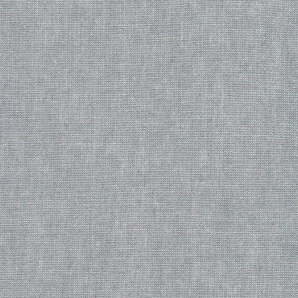 Robert Kaufman Essex Yarn Dyed Metallic Platinum