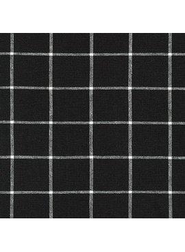 Robert Kaufman Essex Yarn Dyed Classic Wovens Black